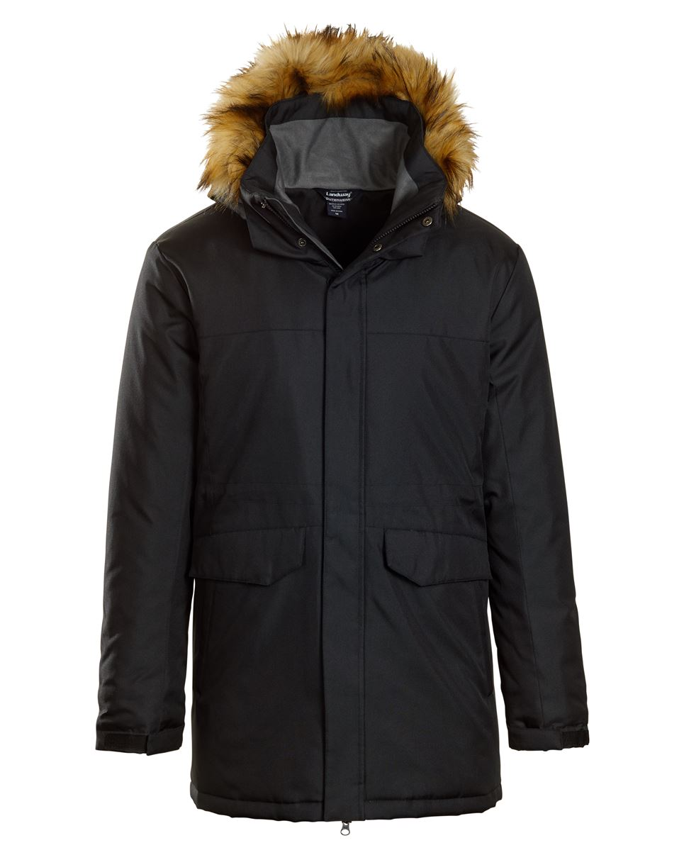 Landway LC-80 - Providence Insulated Parka With Faux ...