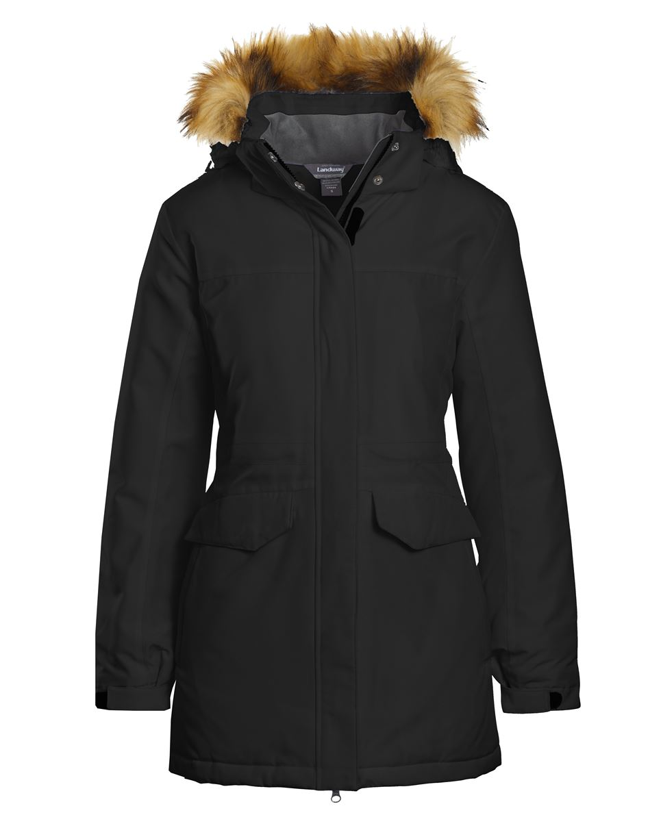 Landway LC-82 - Ladies Providence Insulated Parka With Faux Fur