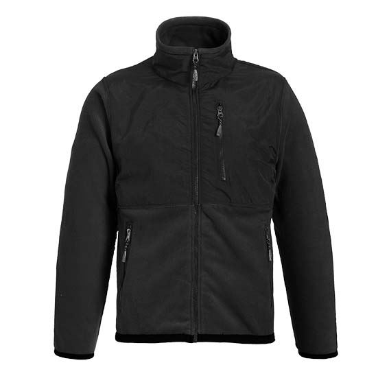 Landway 9811 - Performance Heavyweigh Fleece Jacket With Nylon Trim
