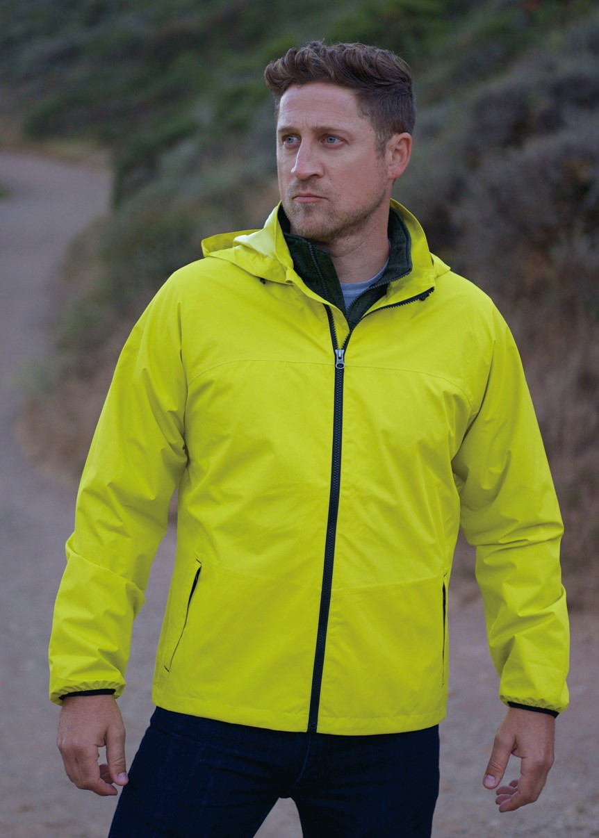 Landway TP-60 - Men's Fearless Breathable Rain Jacket