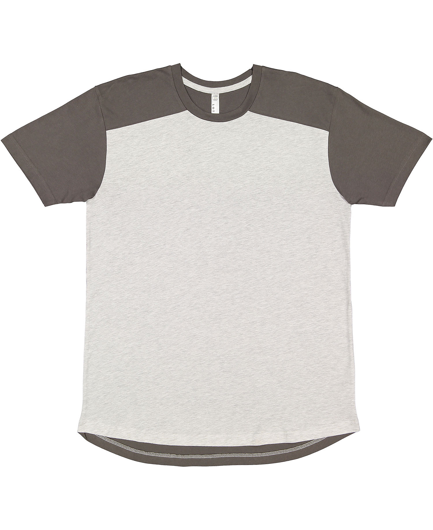 LAT 6911 - Men's Forward Shoulder Fine Jersey Tee