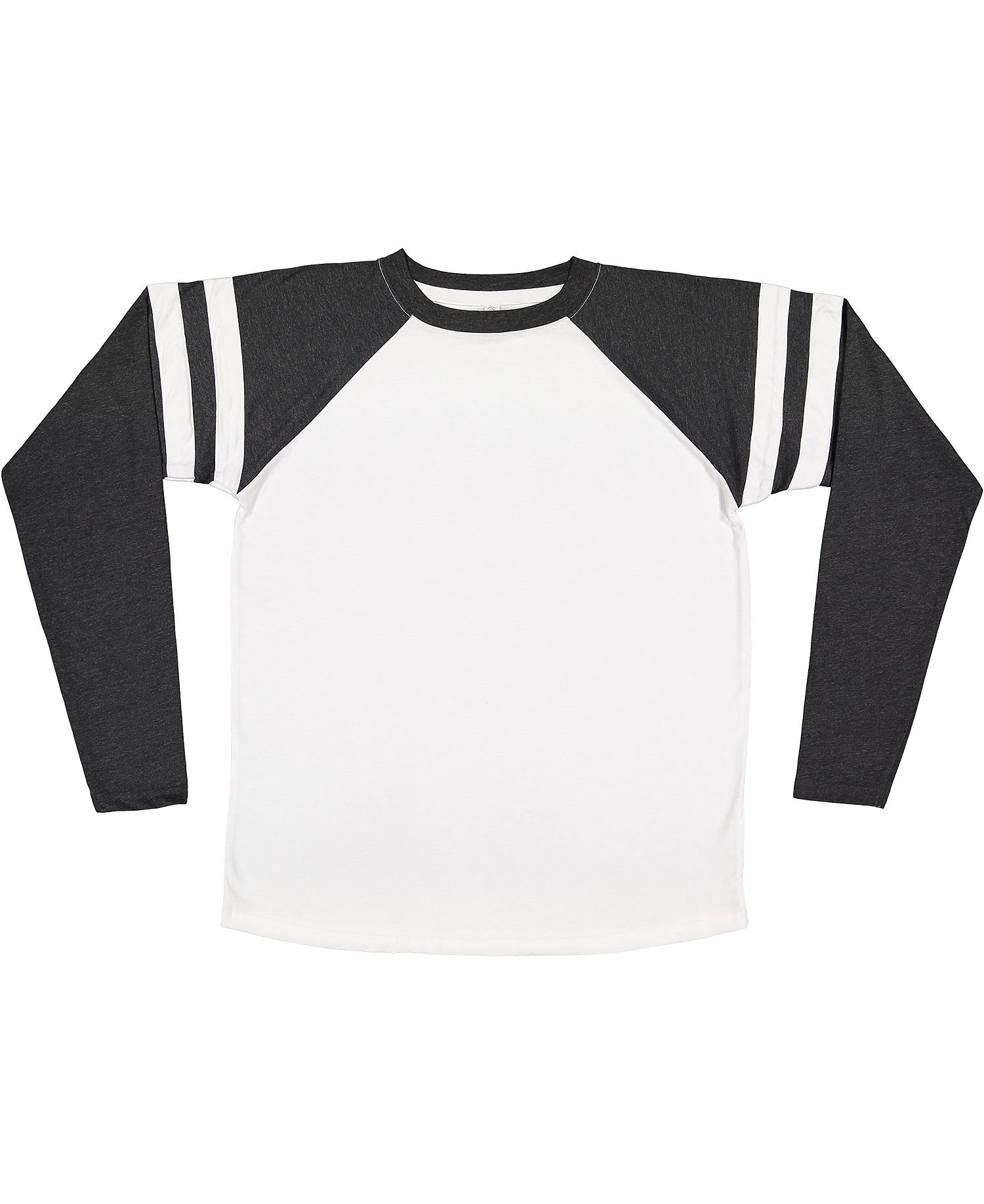 LAT 6934 - Fine Jersey Long Sleeve Mash Up Tee