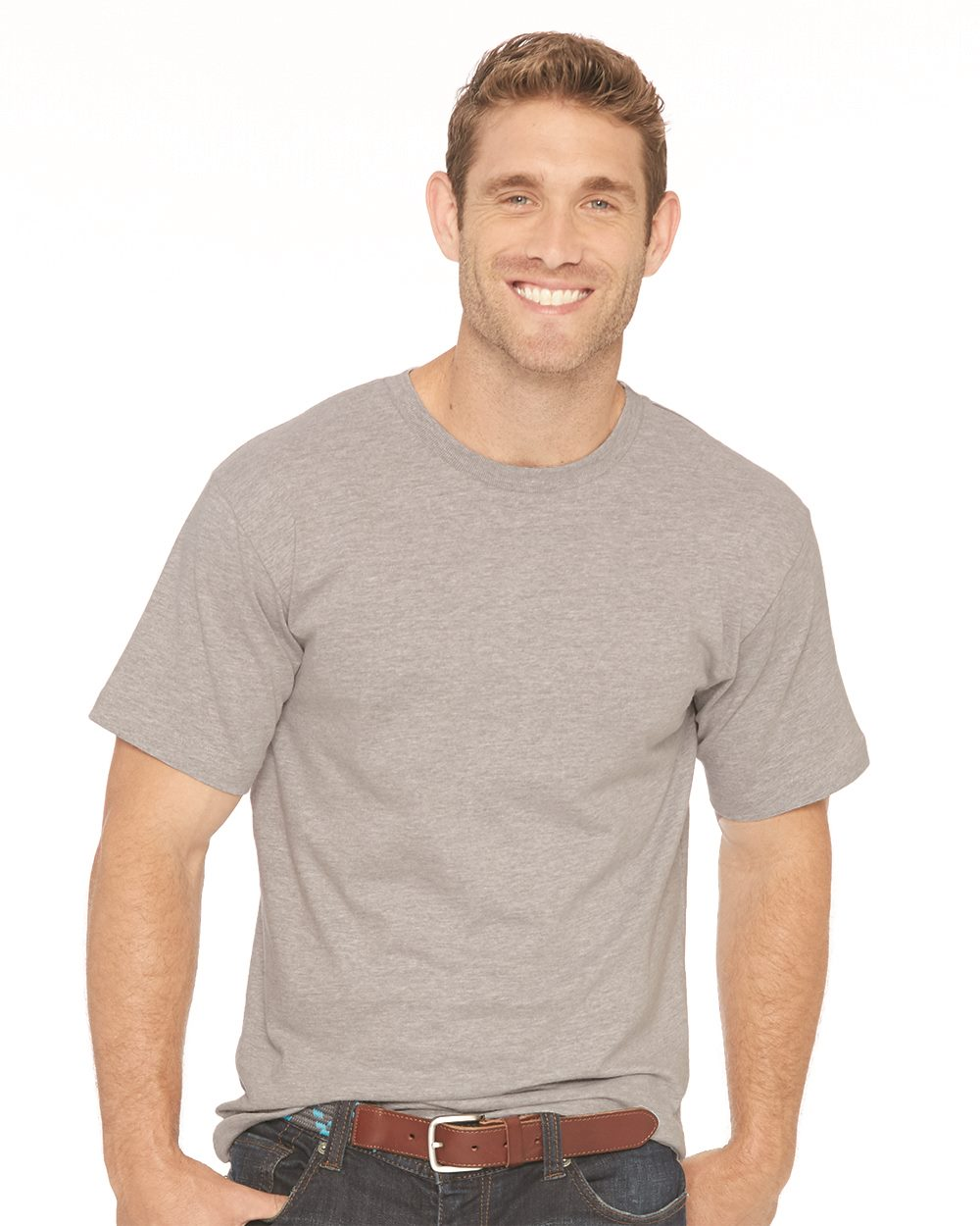 LAT 6980 - Heavyweight Combed Ringspun Cotton T-Shirt