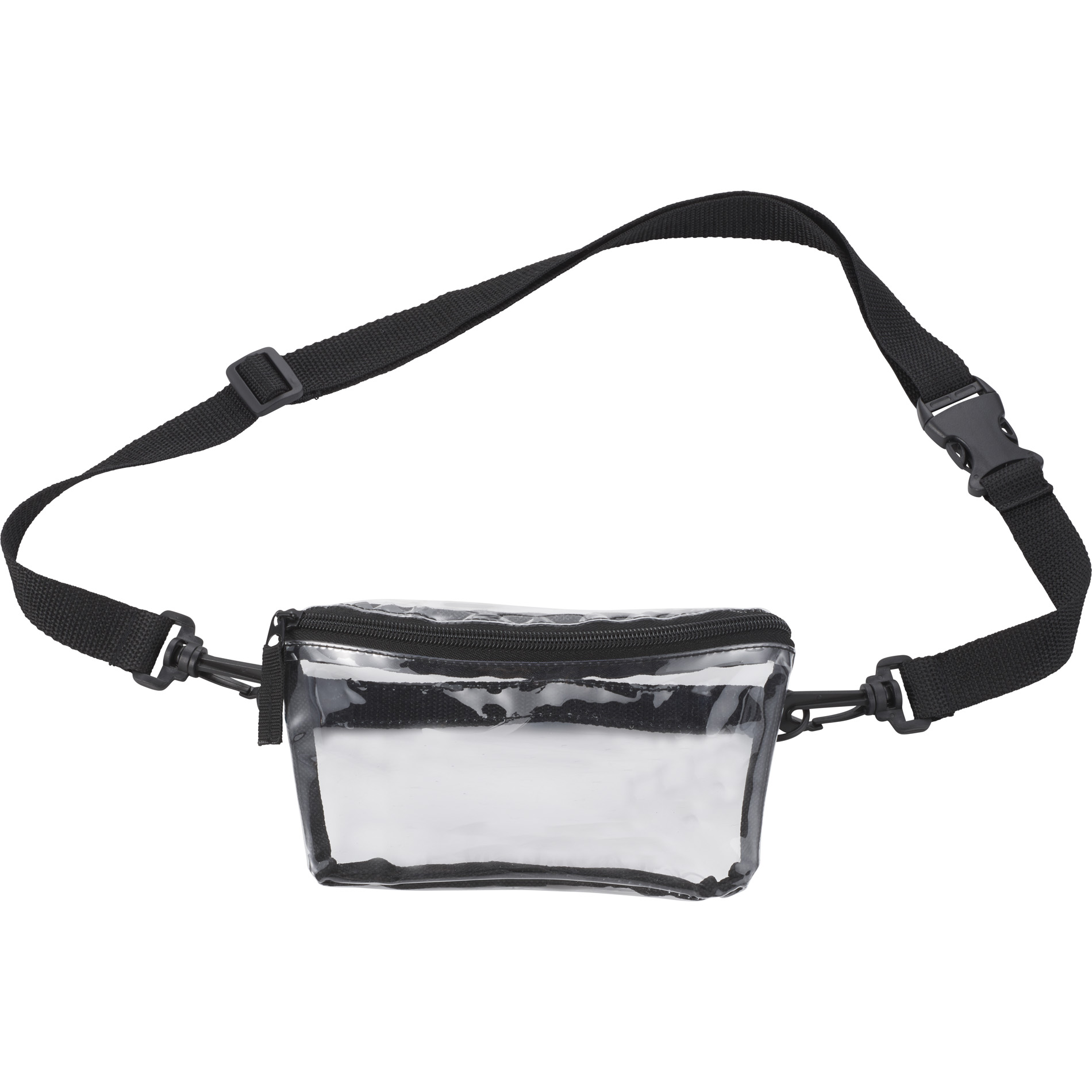LEEDS 1026-11 - Clear Tinted Convertible Waist Pack