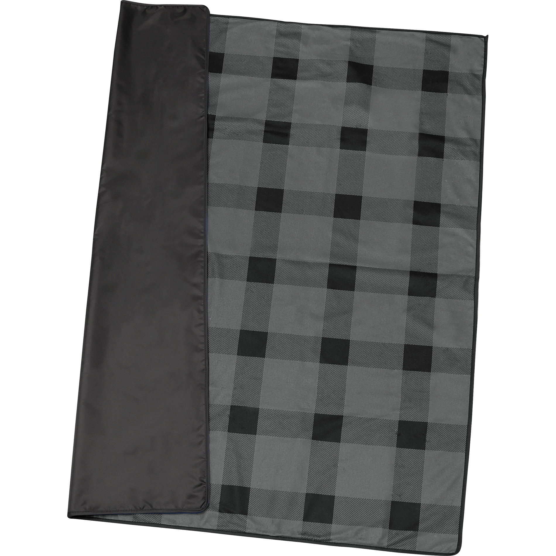 LEEDS 1081-02 - Buffalo Plaid Fleece Picnic Blanket