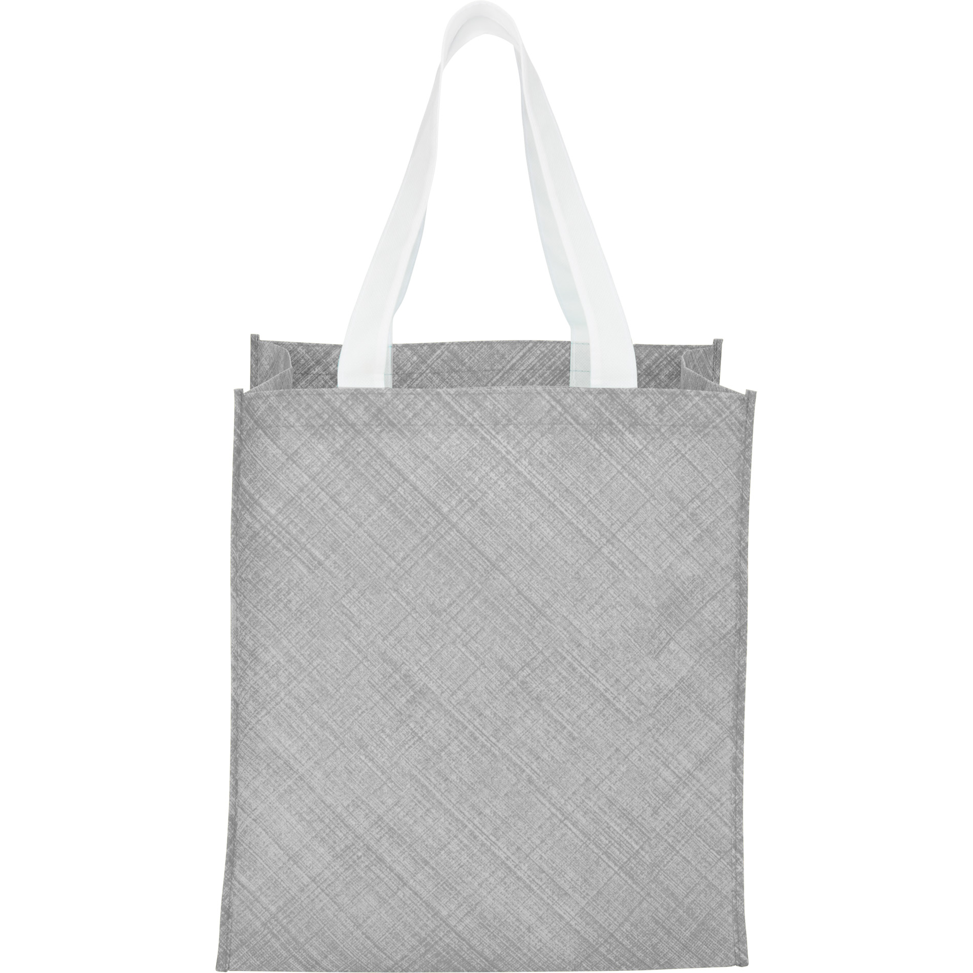 LEEDS 2150-41 - Pastel Non-Woven Big Grocery Tote
