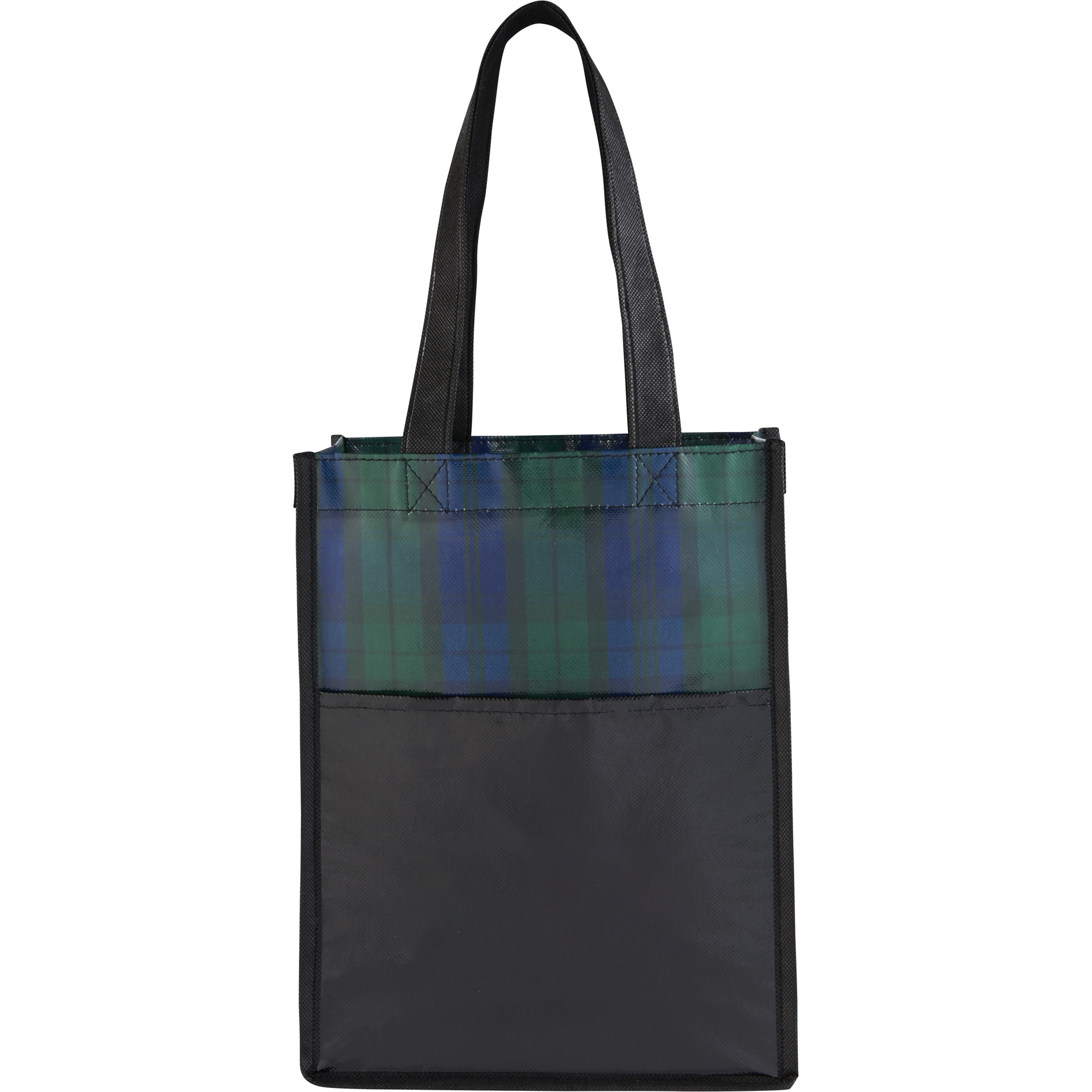 LEEDS 2160-23 - Buffalo Plaid NW Mini Gift Tote