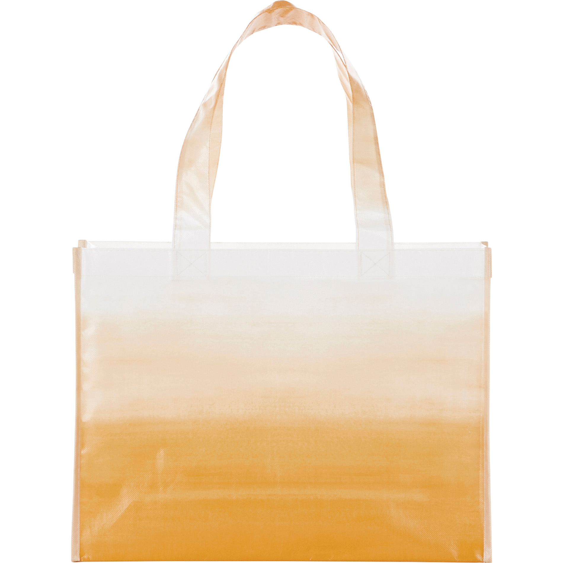 LEEDS 2160-92 - Watercolor Laminated Shopper Tote