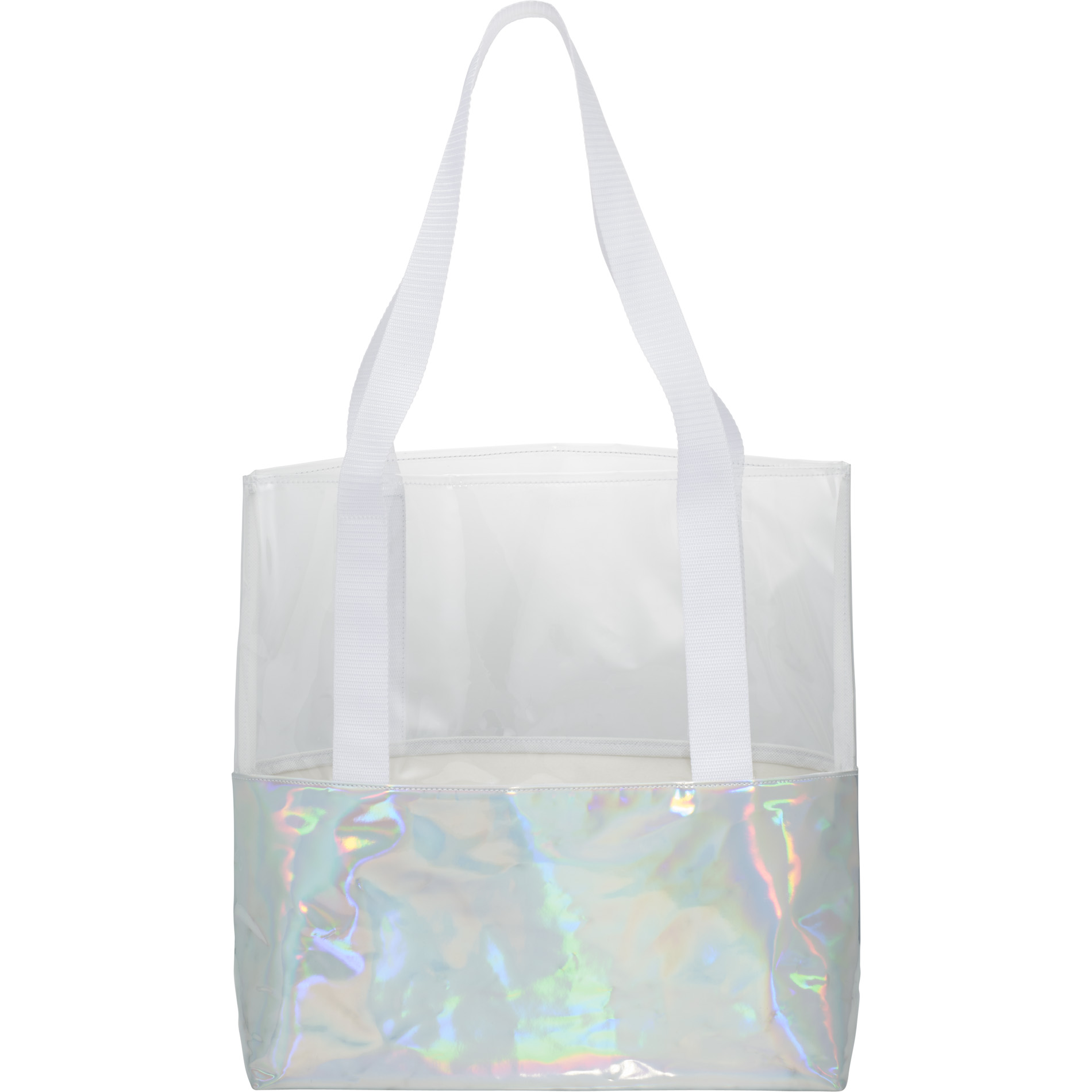 LEEDS 2190-11 - Holographic Boat Tote