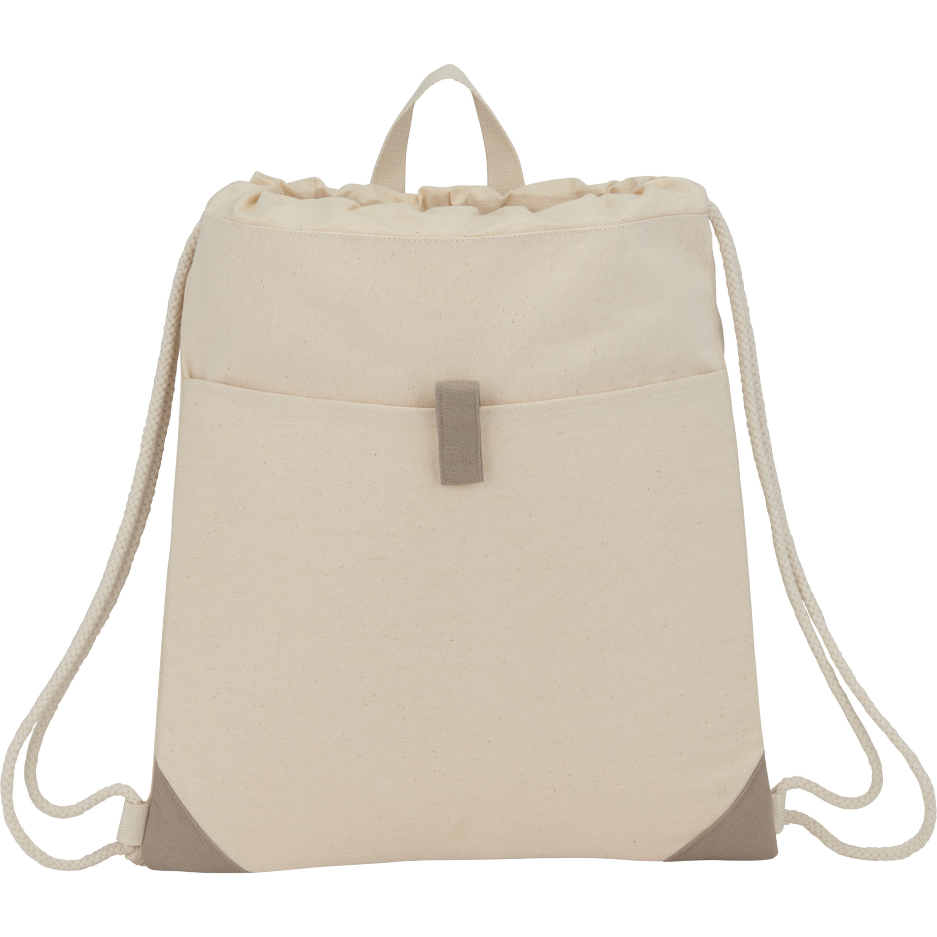 LEEDS 3001-72 - Recycled Cotton Drawstring Bag