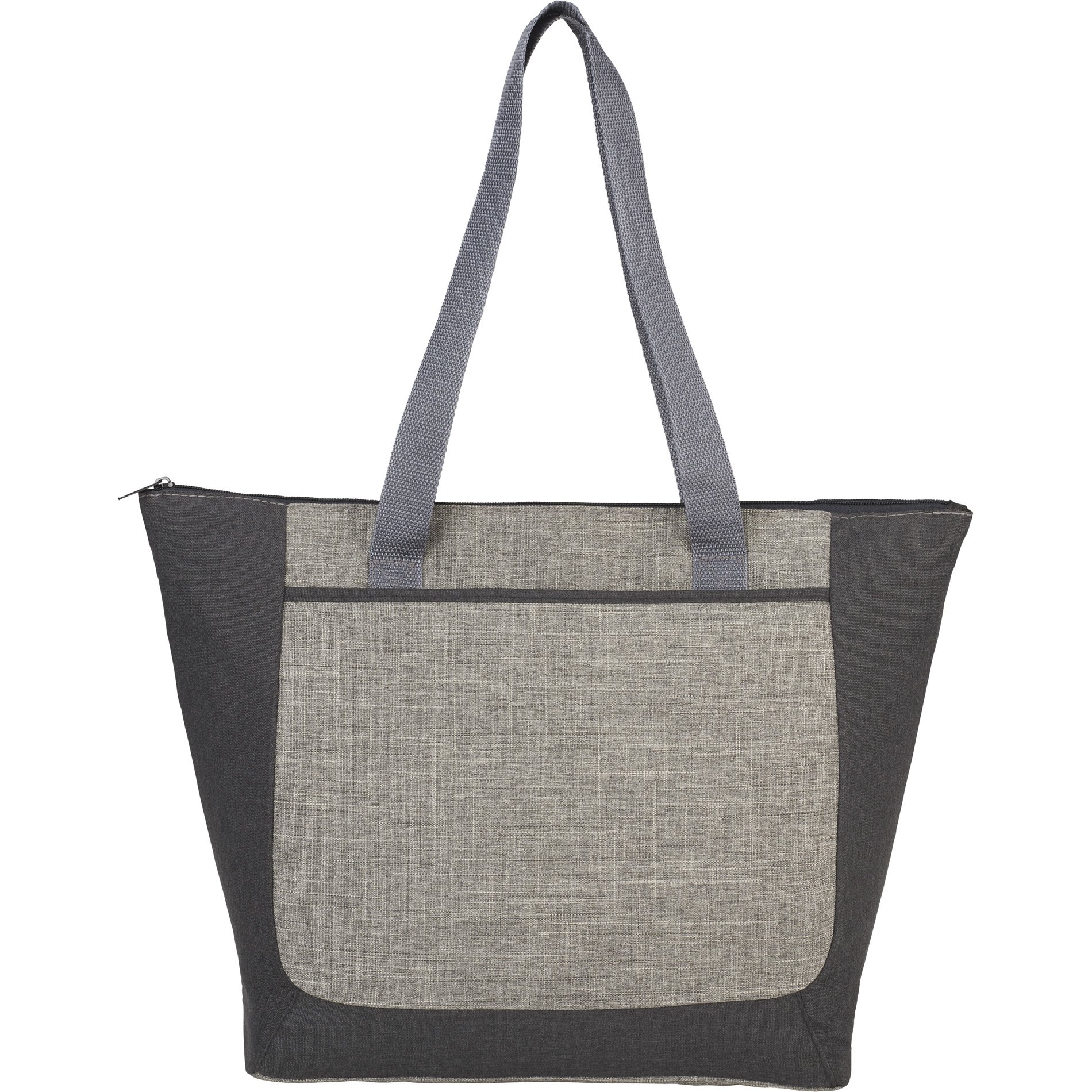 LEEDS 3450-71 - Reclaim Recycled Zippered Tote