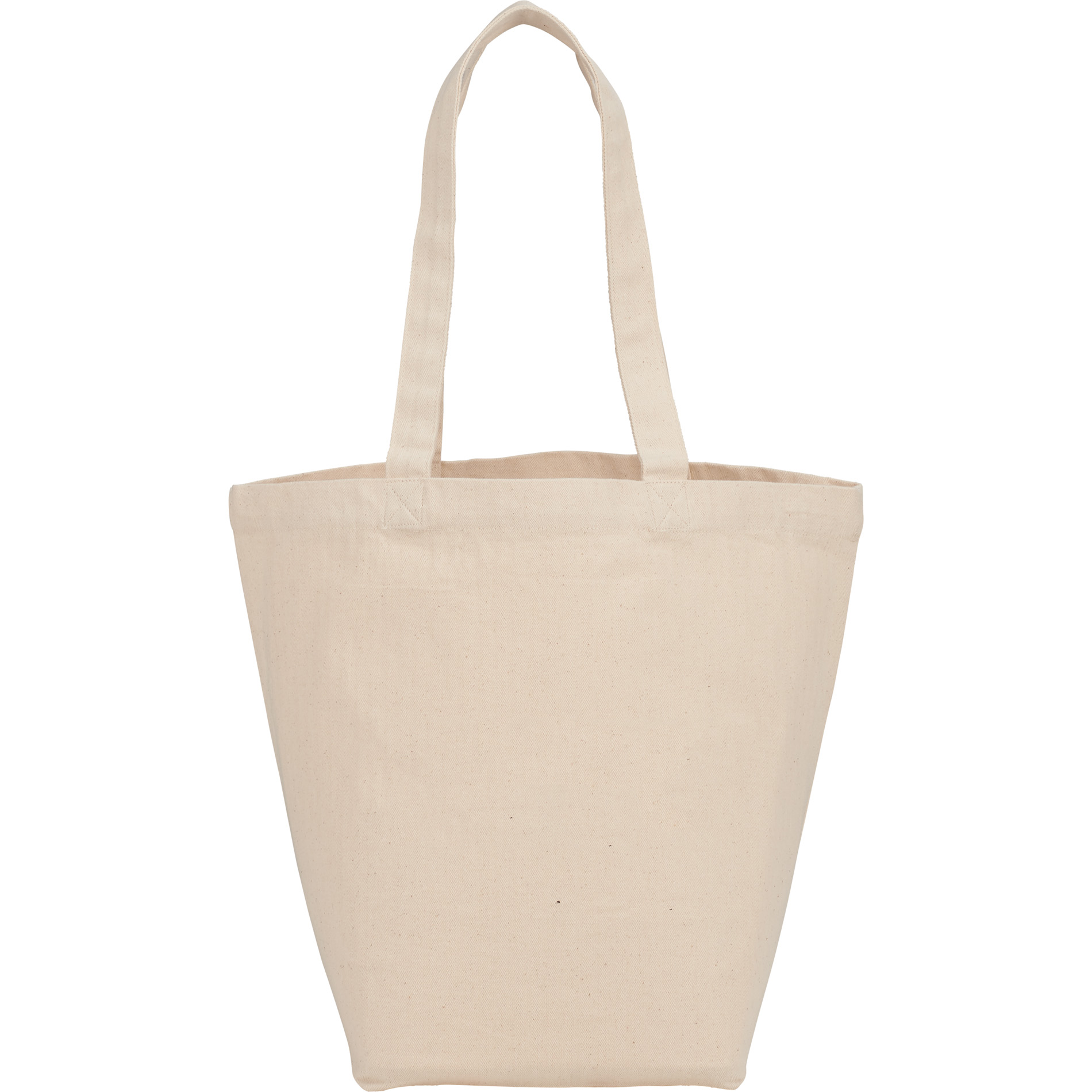 LEEDS 7900-10 - Herringbone 7oz Cotton Canvas Grocery Tote