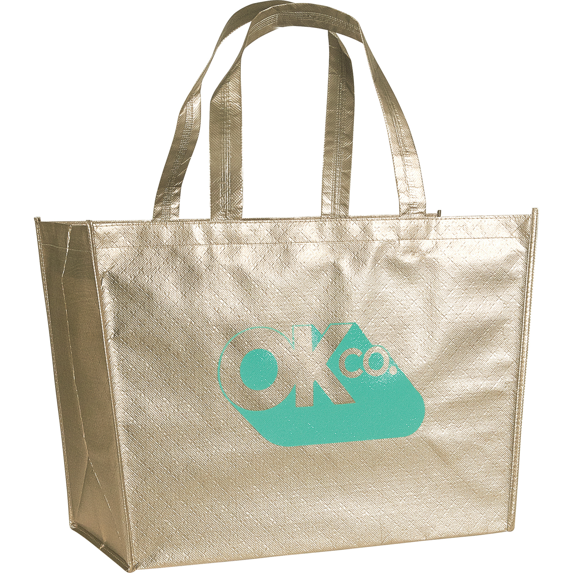 LEEDS 2160-11 - Alloy Laminated Shopper Tote