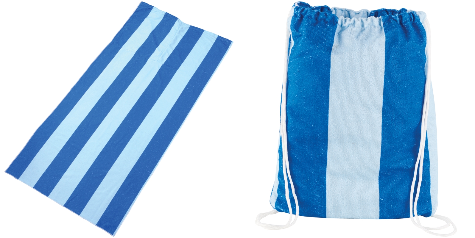 LEEDS 1080-27 - Microfiber Beach Blanket with Drawstring Pouch