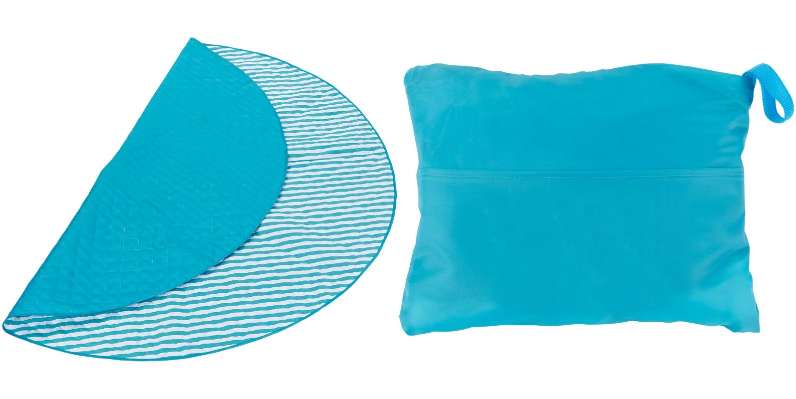 LEEDS 1080-28 - 55 Beach Blanket with Hidden Storage ...