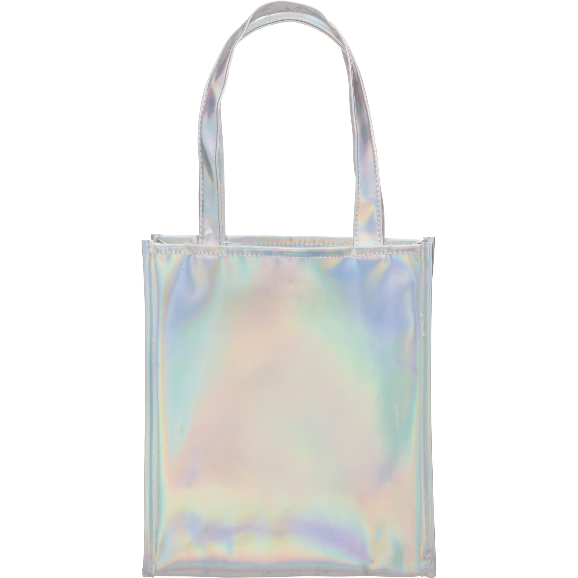 LEEDS 2190-12 - Holographic Gift Tote