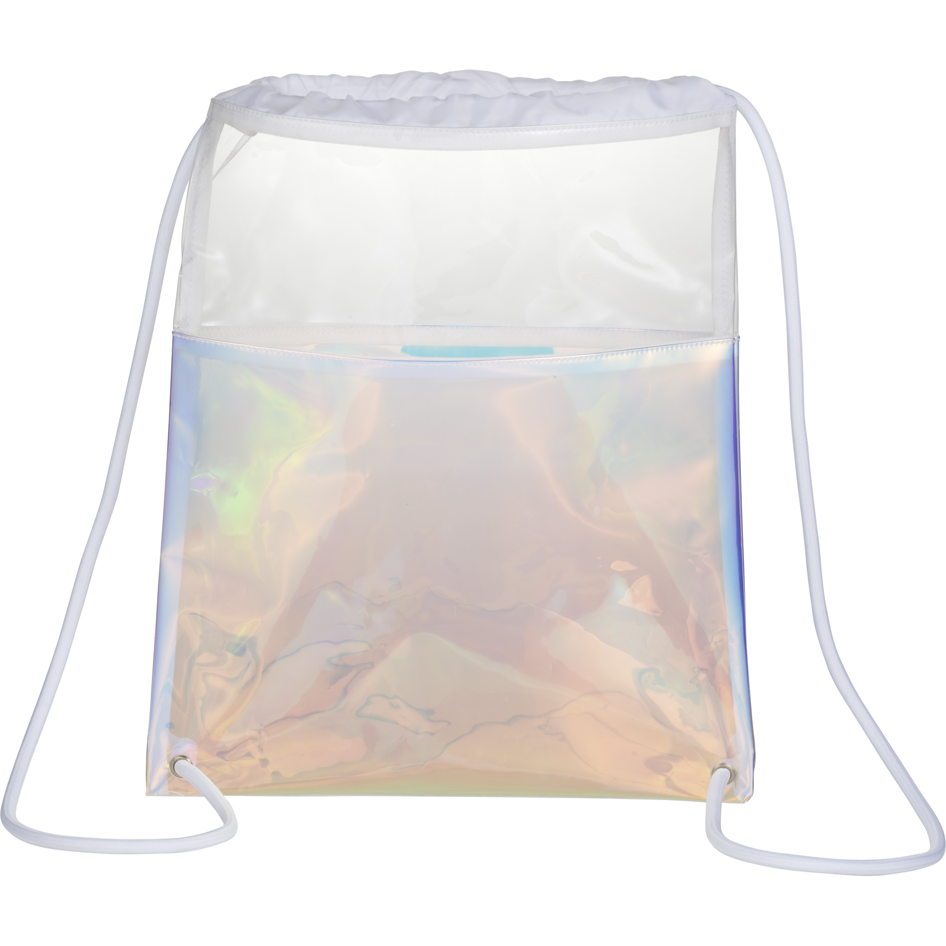 LEEDS 3005-37 - Iridescent Drawstring Bag