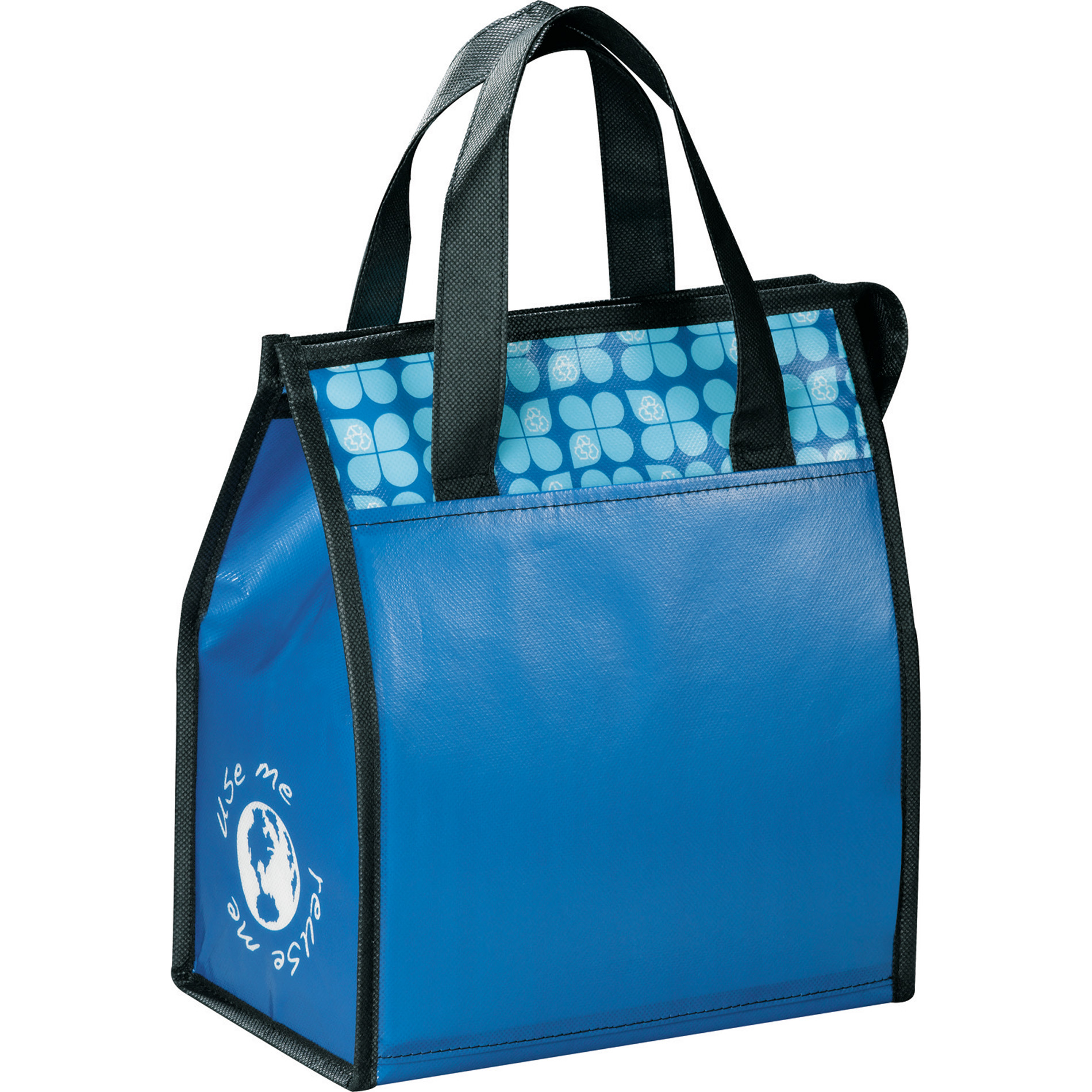 LEEDS 2160-83 - Laminated Non-Woven 6 Can Lunch Cooler