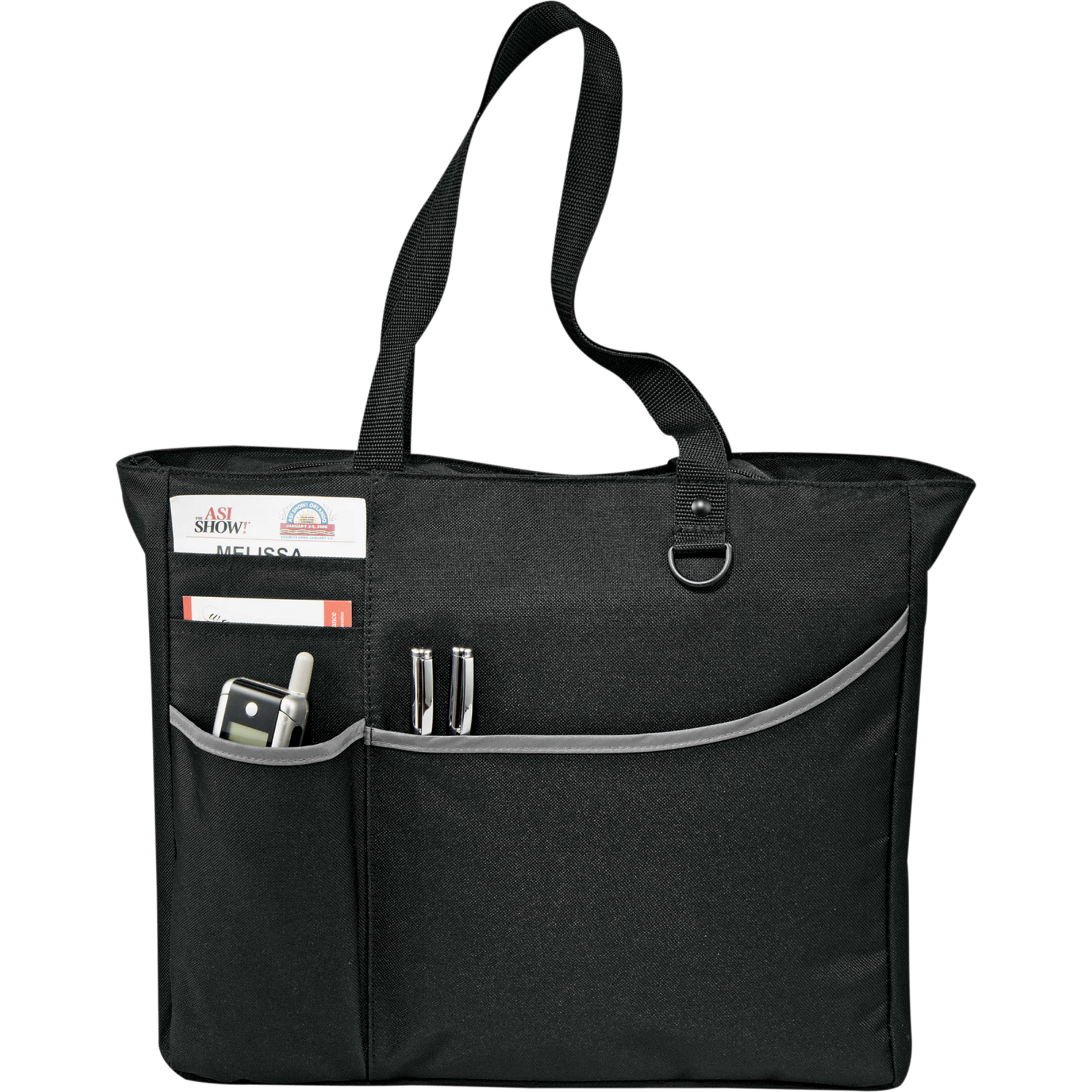 LEEDS 6750-31 - Metropolis Zippered Meeting Tote