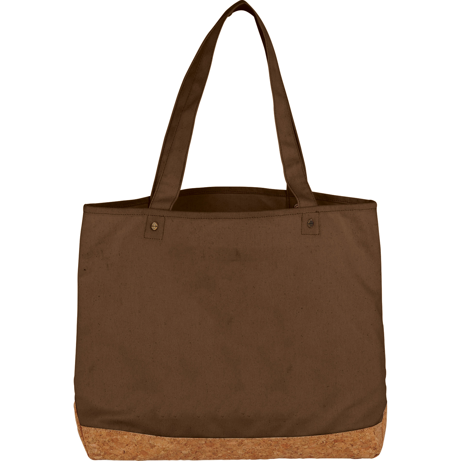 LEEDS 2160-61 - Napa Cotton and Cork Shopper Tote