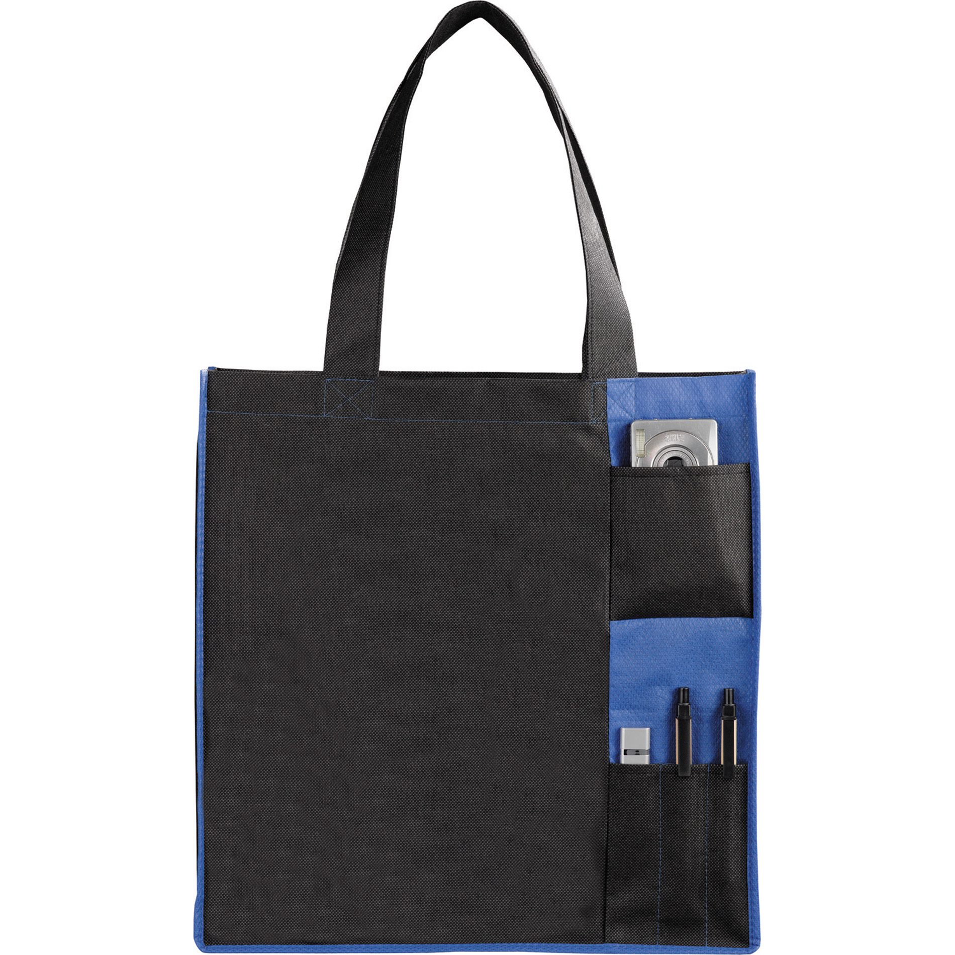 LEEDS 2150-21 - Non-Woven Pocket Convention Tote