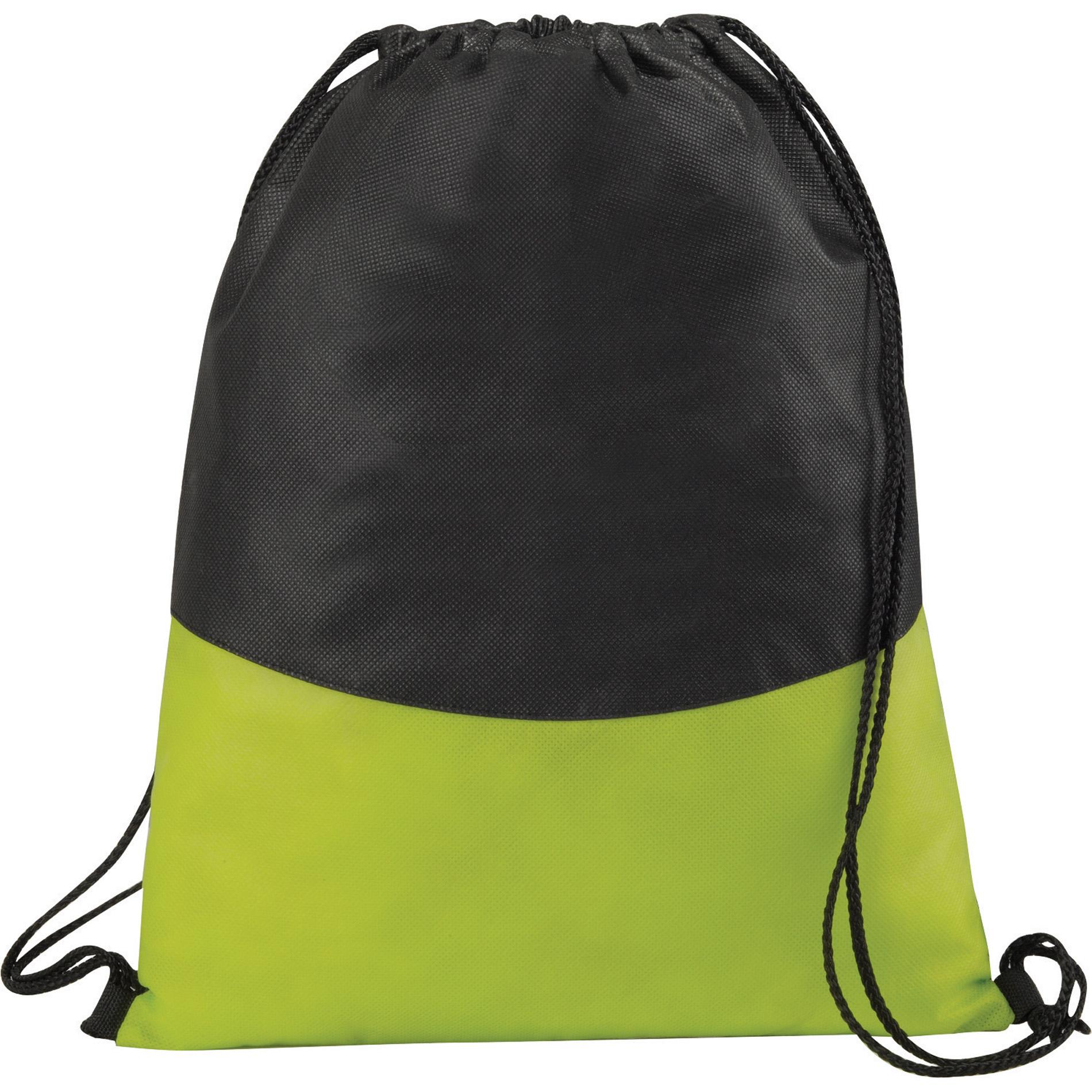 LEEDS 2150-98 - PolyPro Non-Woven Drawstring Sportspack