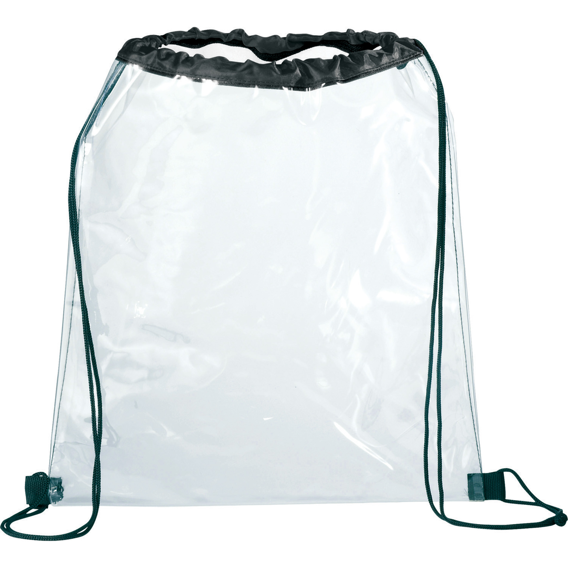 LEEDS SM-7200 - Rally Clear Drawstring Bag