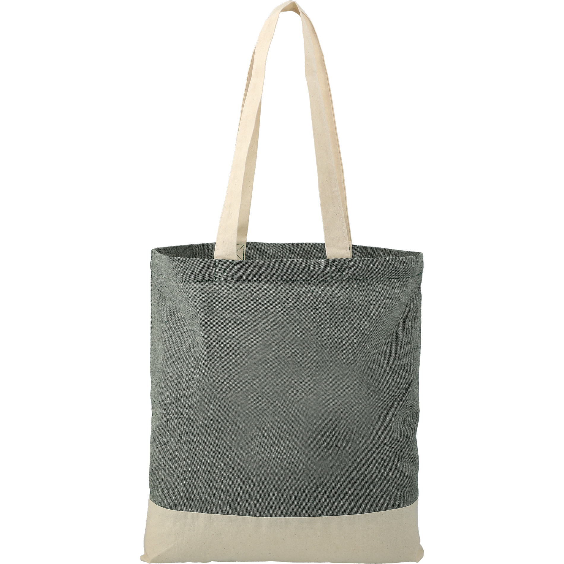 LEEDS 7901-08 - Split Recycled 5oz Cotton Twill Convention Tote
