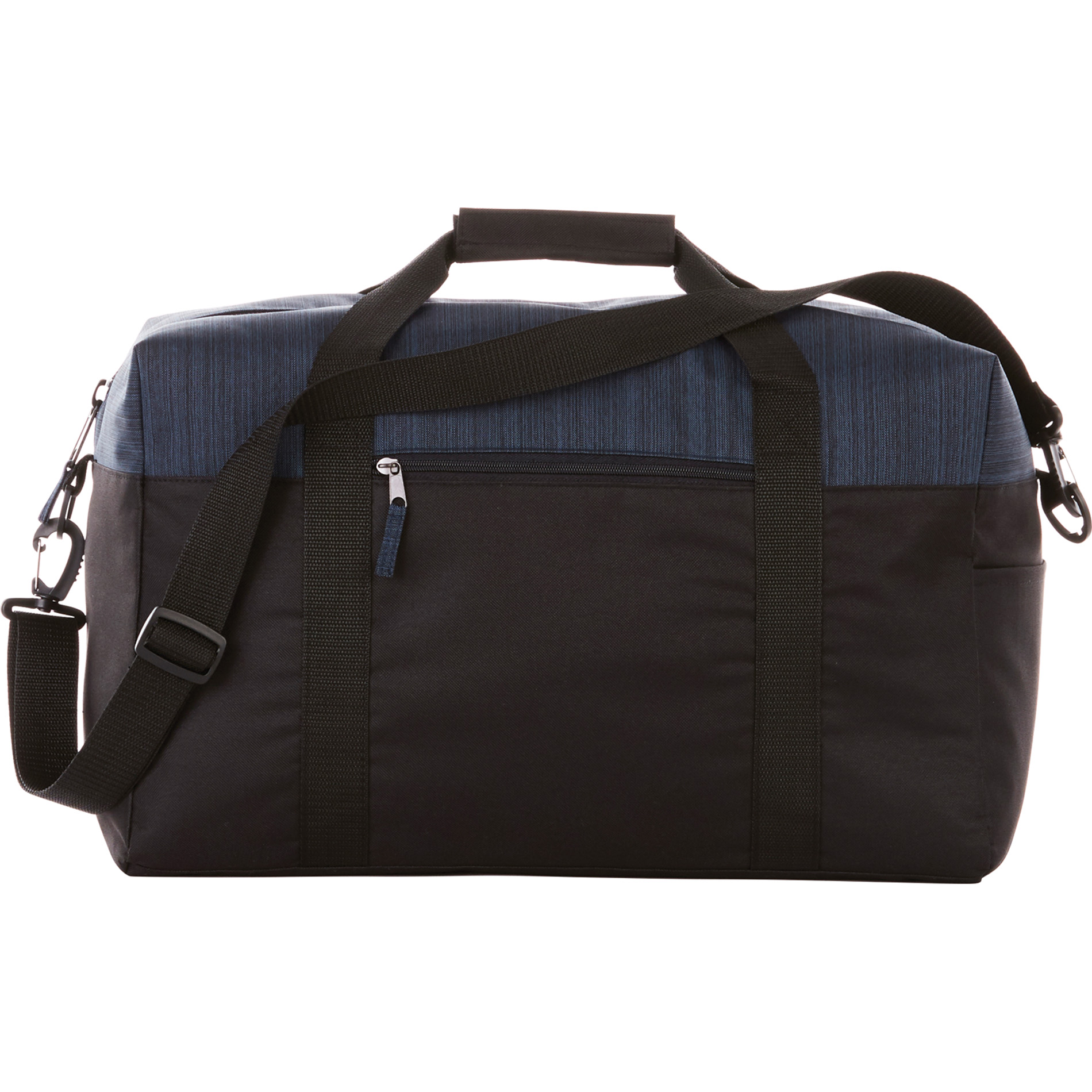 "LEEDS 4700-40 - Two Tone Heather 18"" Duffel Bag"