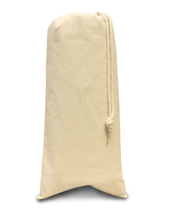Liberty Bags 1727 - 10 Ounce Cotton Canvas Drawstring Wine Bag