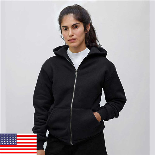 Los Angeles Apparel HF10 - Heavy weight Fleece Zip up ...