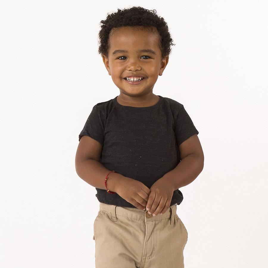 Los Angeles Apparel TR0005 - Infant Unisex Tri-Blend Short Sleeve Tee