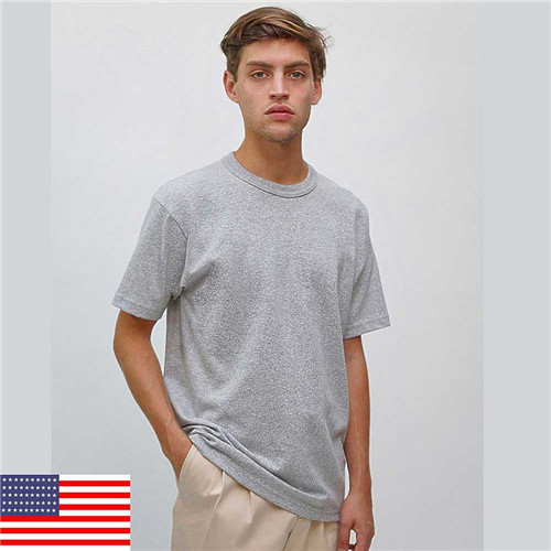 Los Angeles Apparel MT01 - Yukon Tee S/S Mock Twist