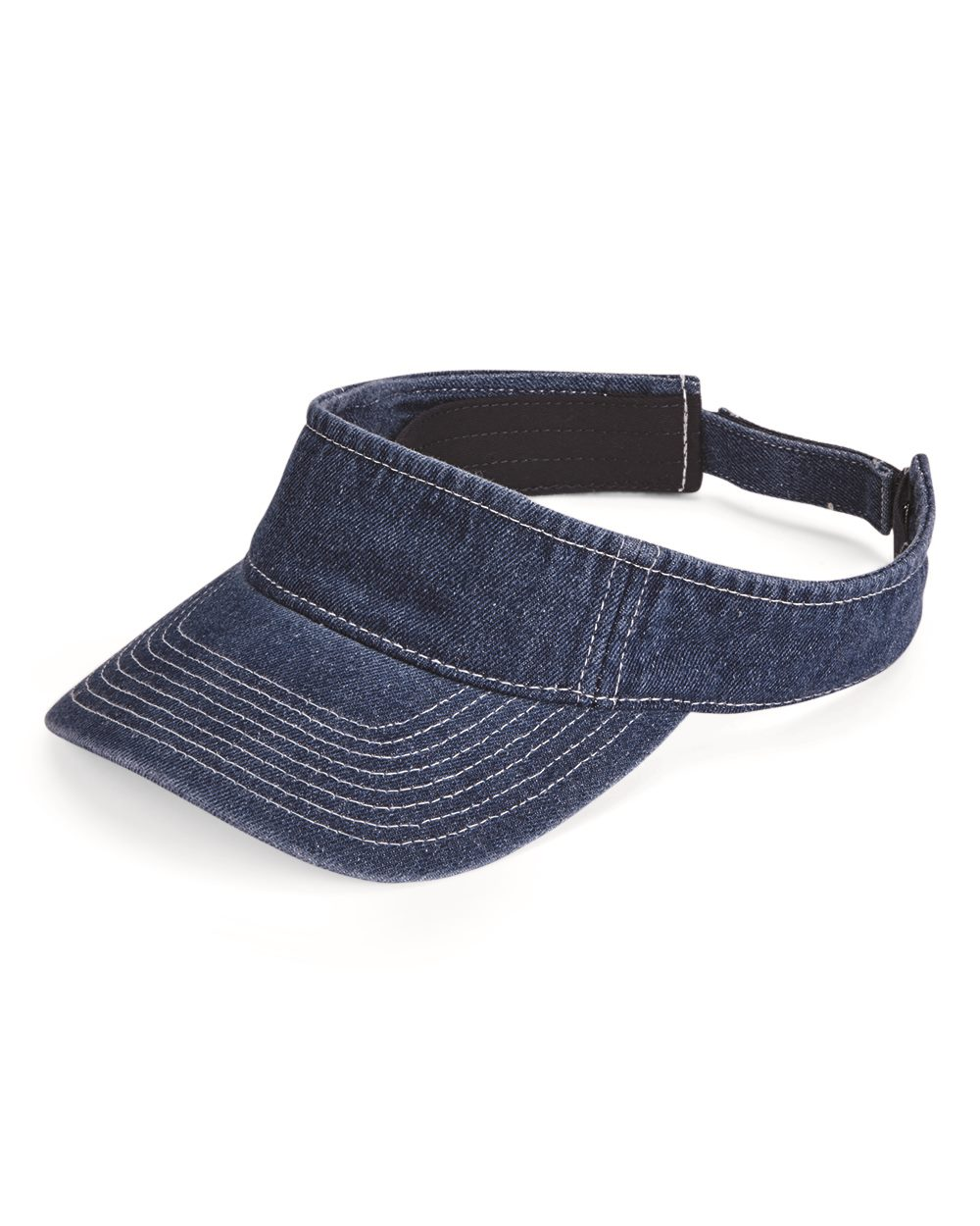 Mega Cap 4029 - Washed Denim Visor
