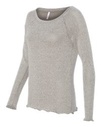 MV Sport W15114 - Women's Katilyn Gauze Knit Long Sleeve ...