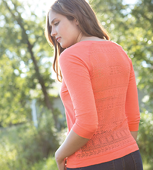 MV SPORT W15408 - LADIES' CATHERINE CROCHET BACK