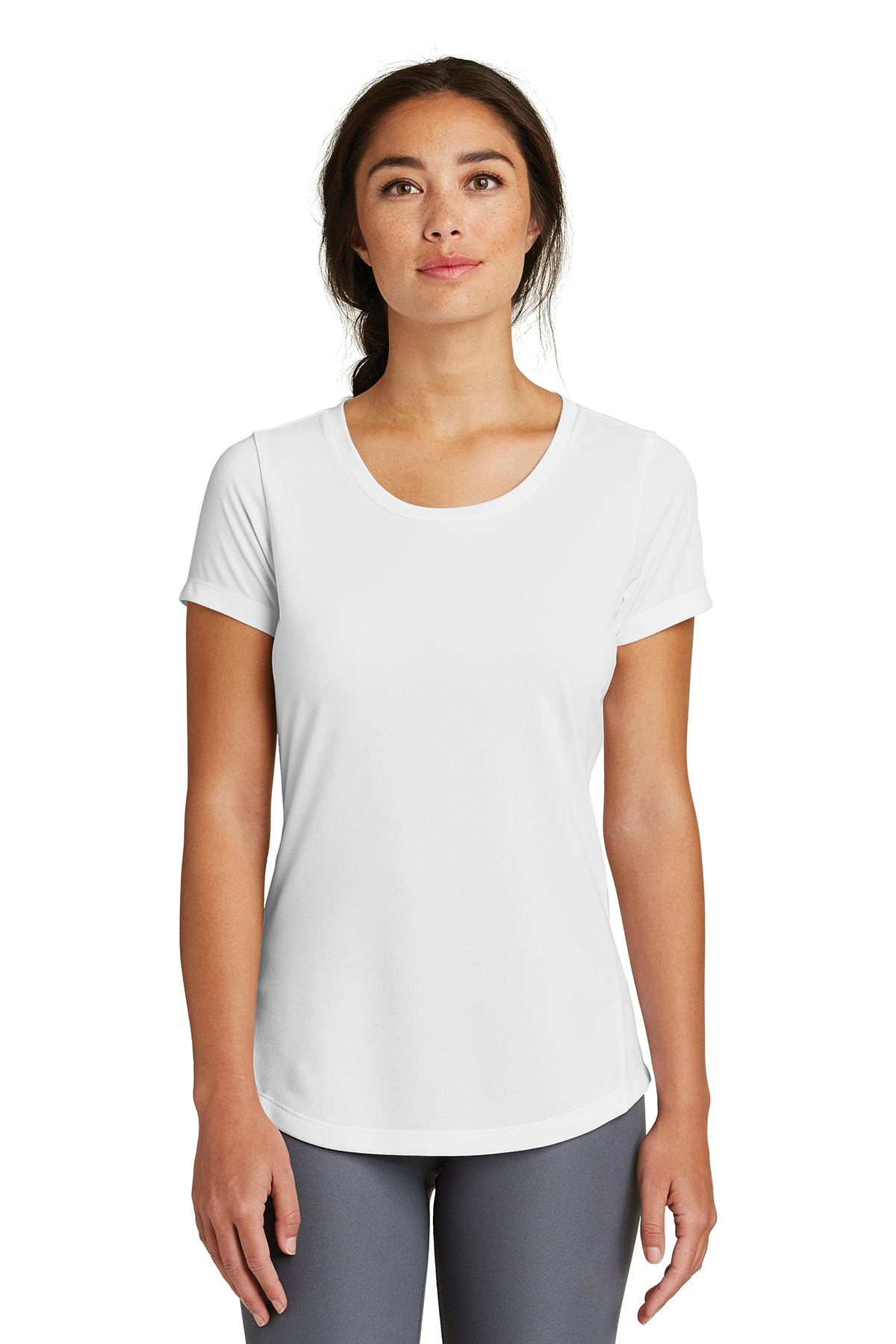 New Era LNEA200 - Ladies Series Performance Scoop Tee