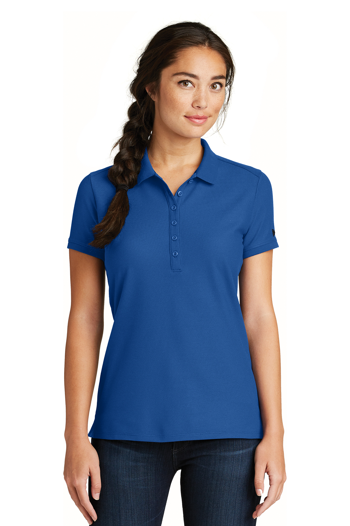 New Era LNEA300 - Ladies Venue Home Plate Polo