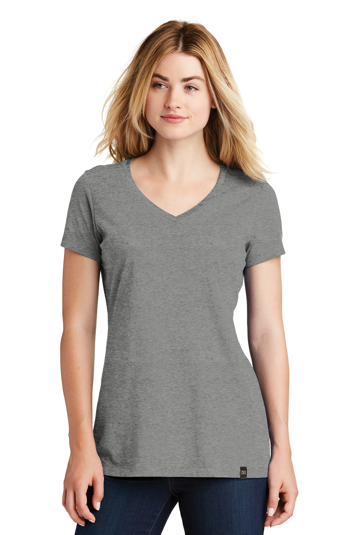 New Era LNEA101 - Ladies Heritage Blend V-Neck Tee