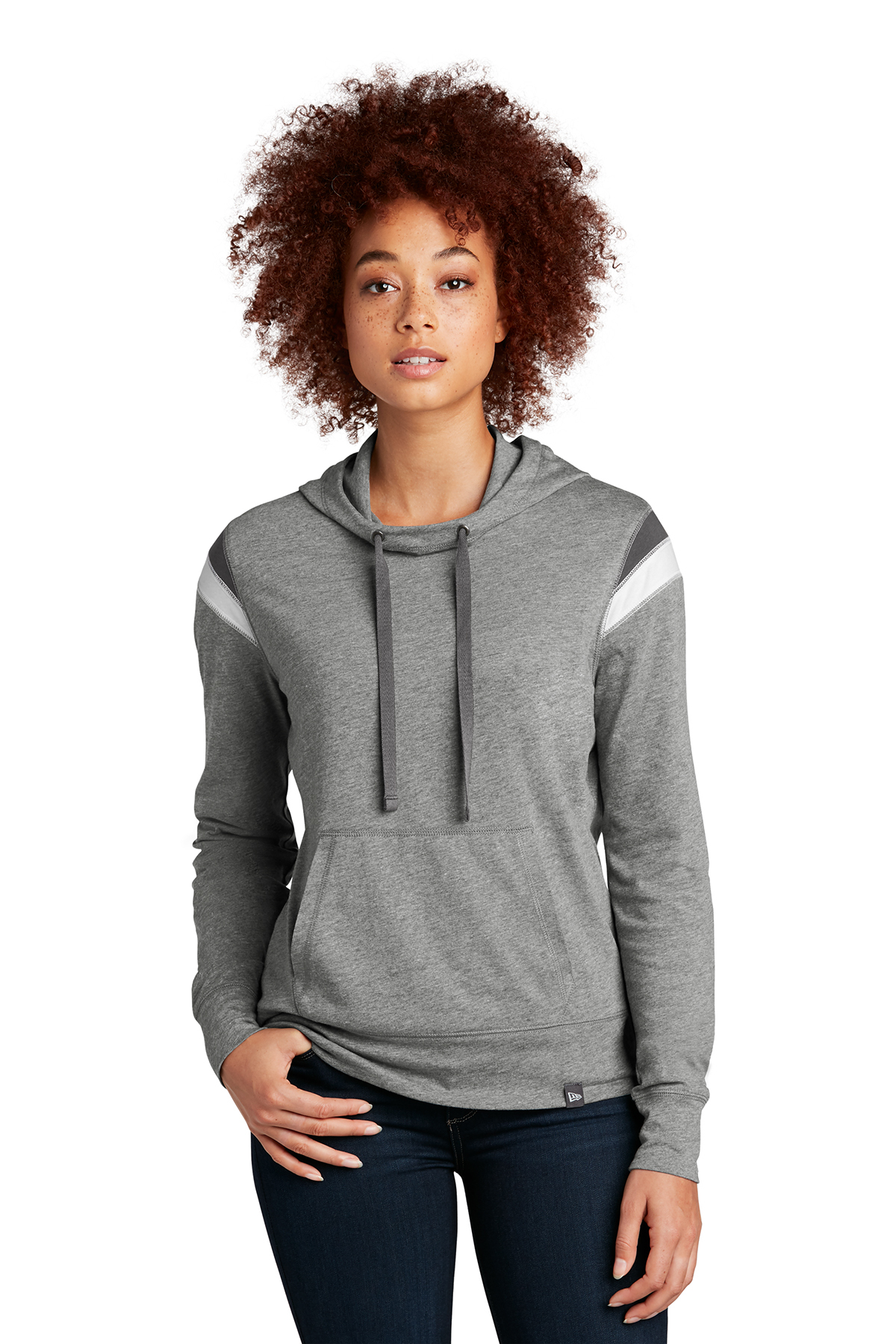 New Era ® LNEA108 - Ladies Heritage Blend Varsity Hoodie