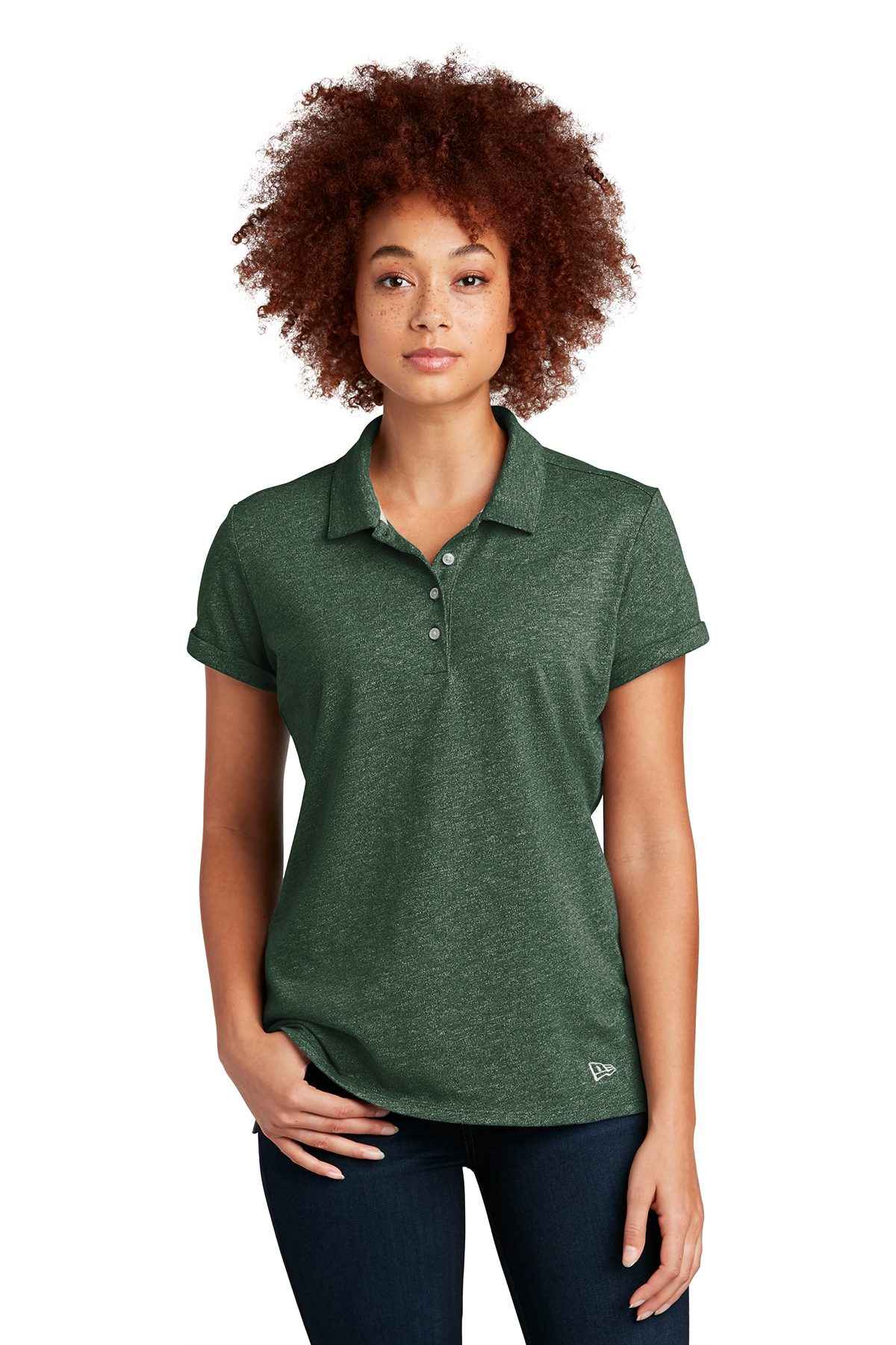 New Era ® LNEA301 - Ladies Slub Twist Polo