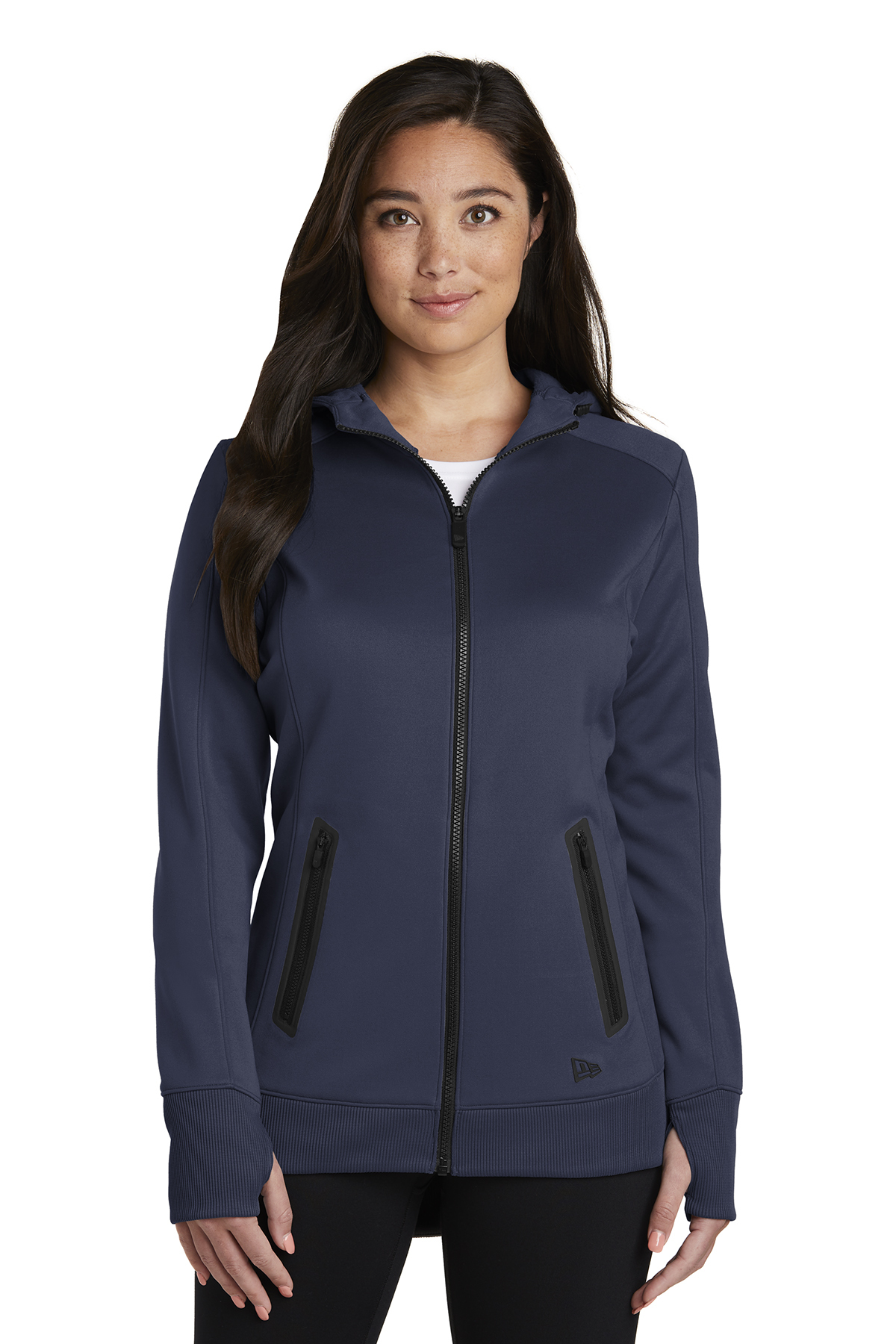 New Era LNEA522 - Ladies Venue Fleece Full-Zip Hoodie