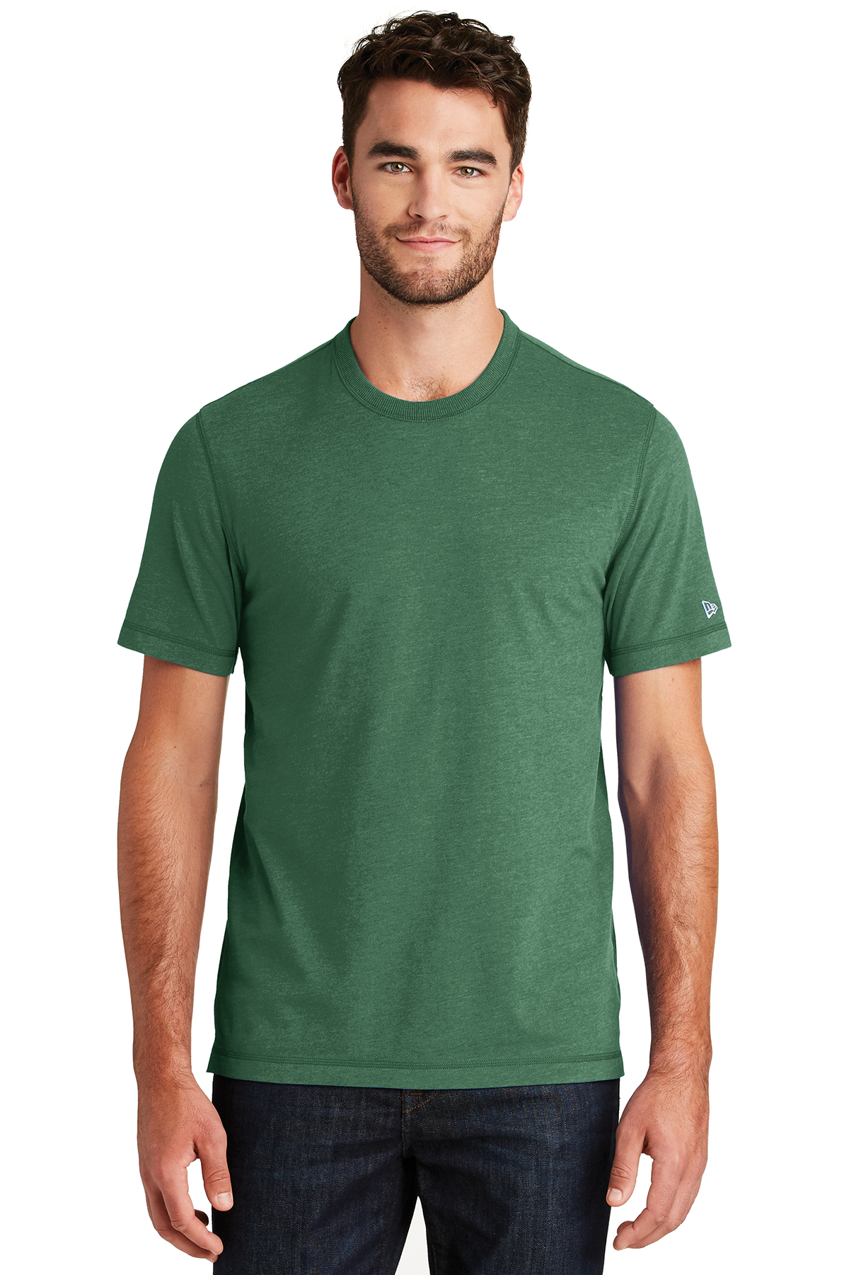New Era NEA120 - Men's Suede Cotton Crew Tee