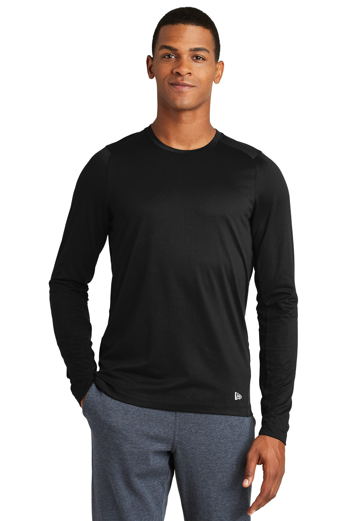 New Era NEA201 - Men's Series Performance Long Sleeve Crew Tee