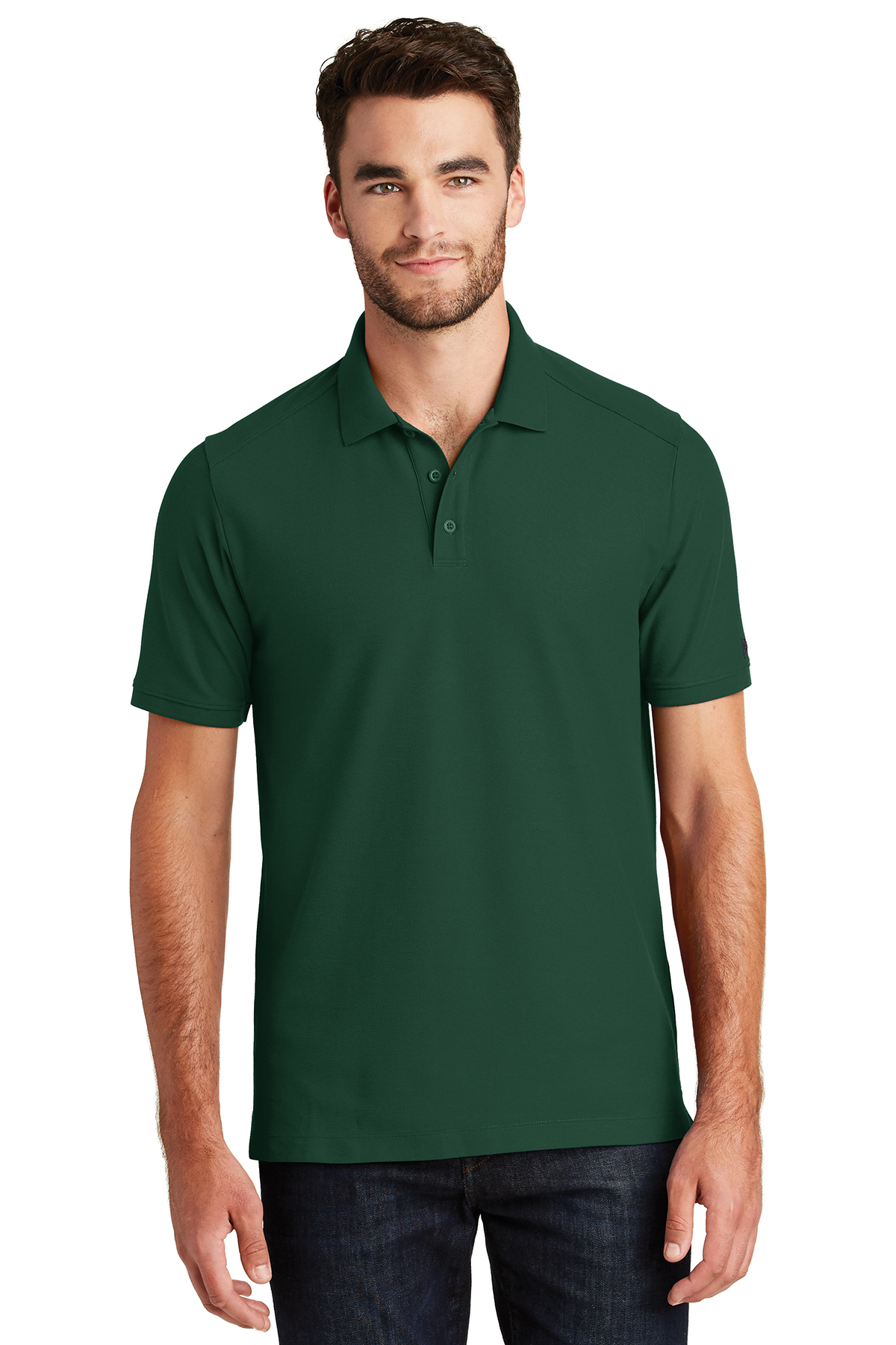 New Era NEA300 - Men's Venue Home Plate Polo