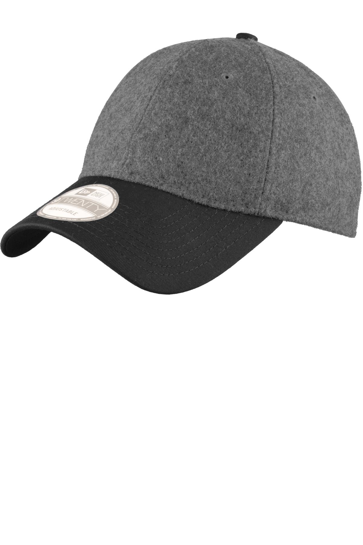 New Era® NE206 - Melton Wool Heather Cap