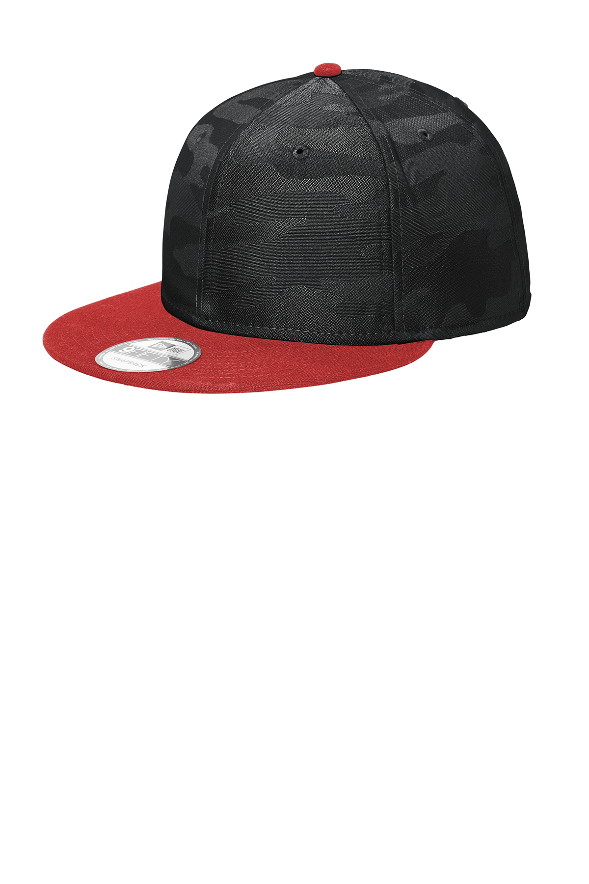 New Era NE407 - Camo Flat Bill Snapback Cap