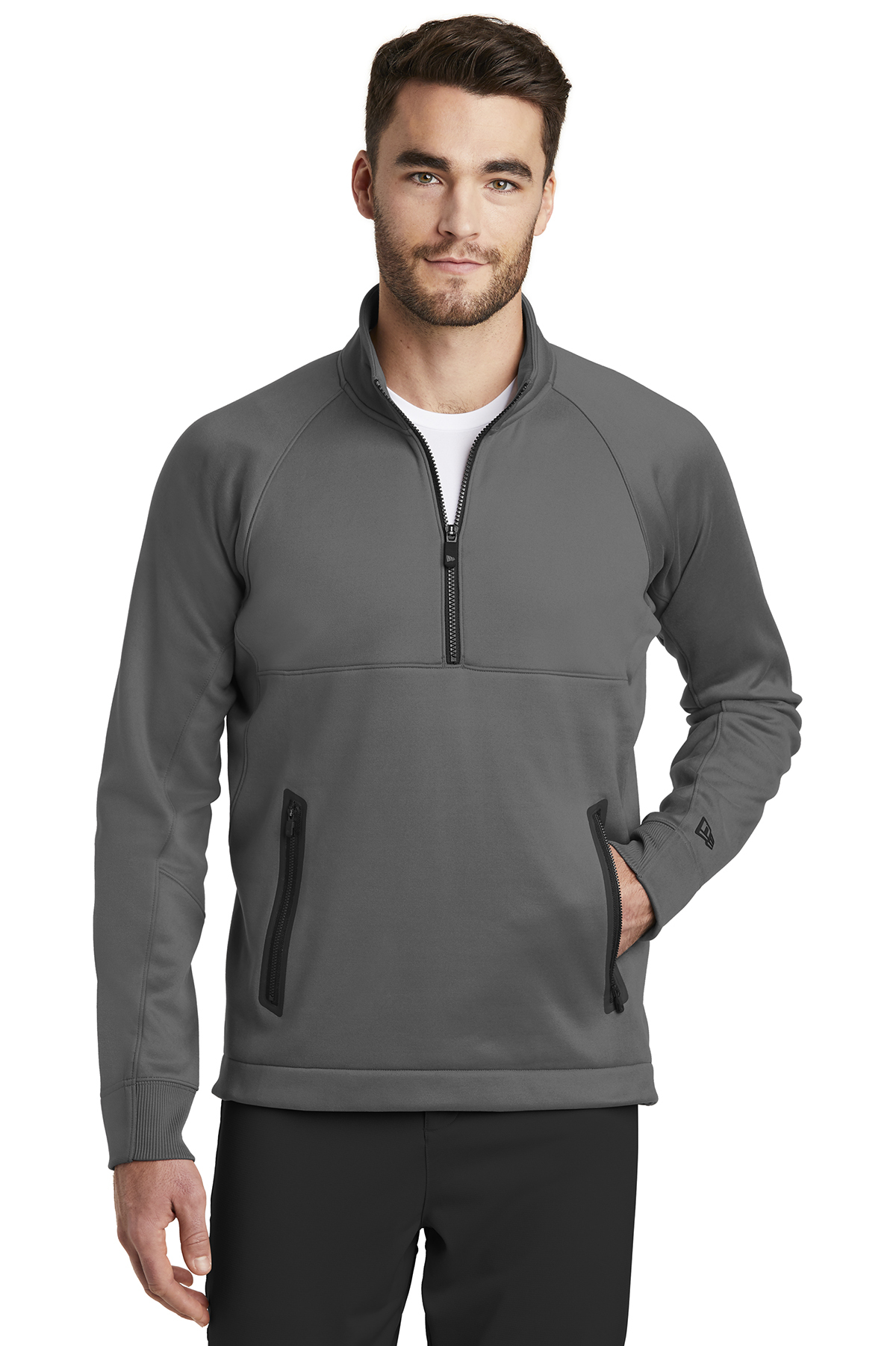 New Era NEA523 - Men's Venue Fleece 1/4-Zip Pullover