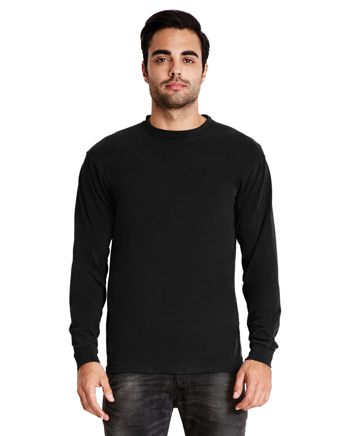 Next Level 7401 - Inspired Dye Long Sleeve Crew