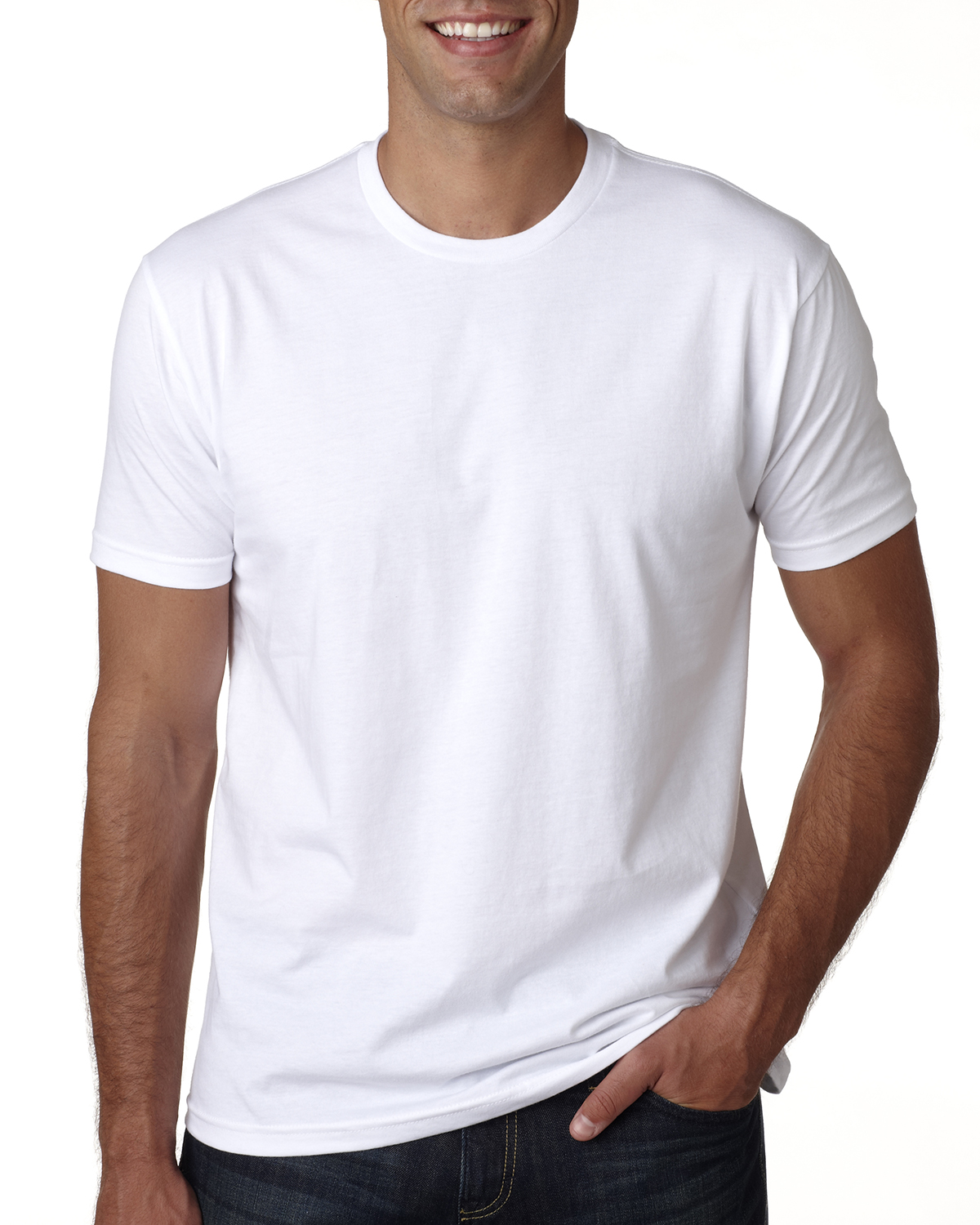Next Level Apparel 3600A - Men's Made in USA Cotton ...